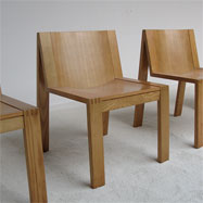 4 Pastoe Boonzaayer en Mazairac dining chairs and table 1970s