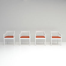 VICO MAGISTRETTI FOUR CASSINA CARIMATE CHAIRS